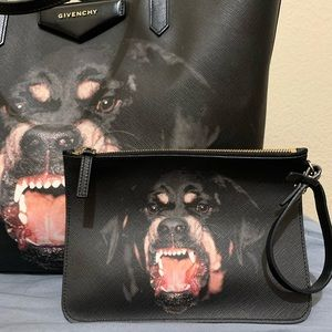 Givenchy Rottweiler pouch